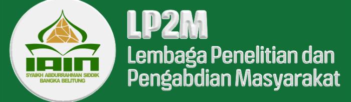 Logo LP2M IAIN SAS BABEL